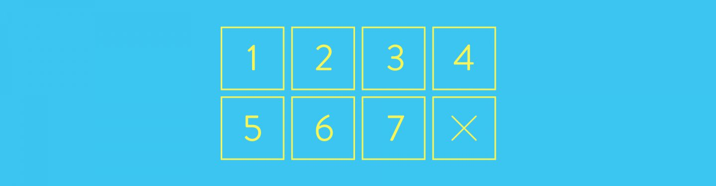 Blog article image showing number inputs