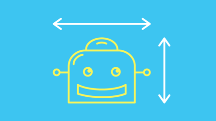 Blog title image showing a responsive chatbot