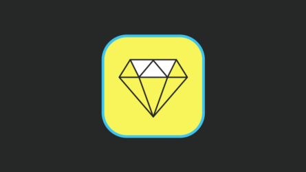 Blog image picture showing a diamongd app icon
