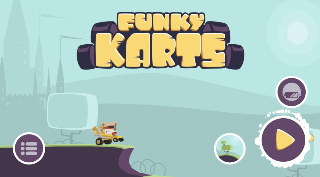 WebAssembly Demo Funky Karts