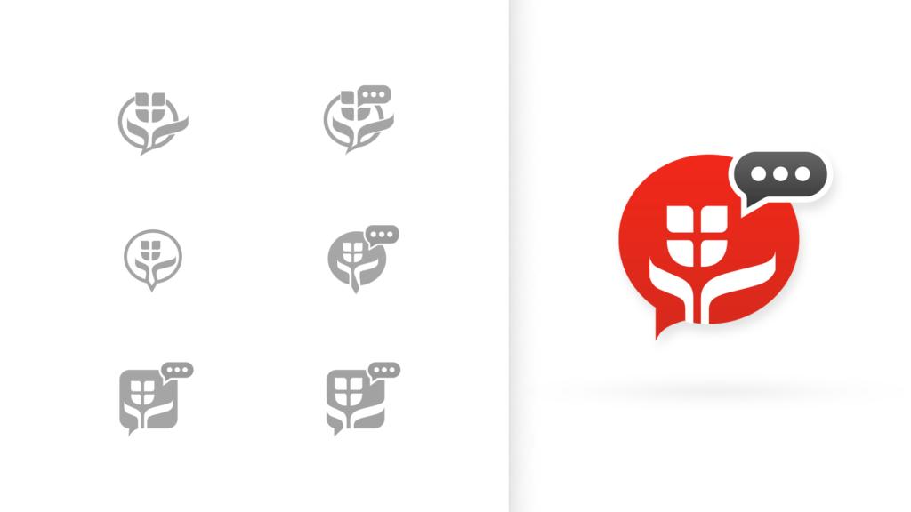 Verschiedene Varianten des Icons