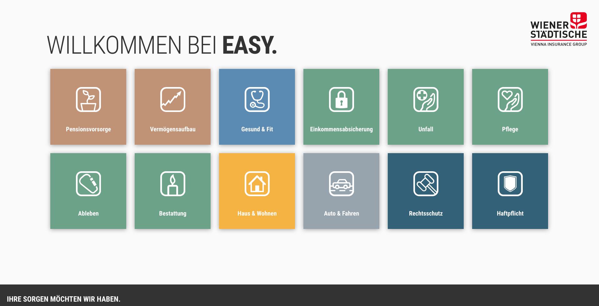 Startseite EASY