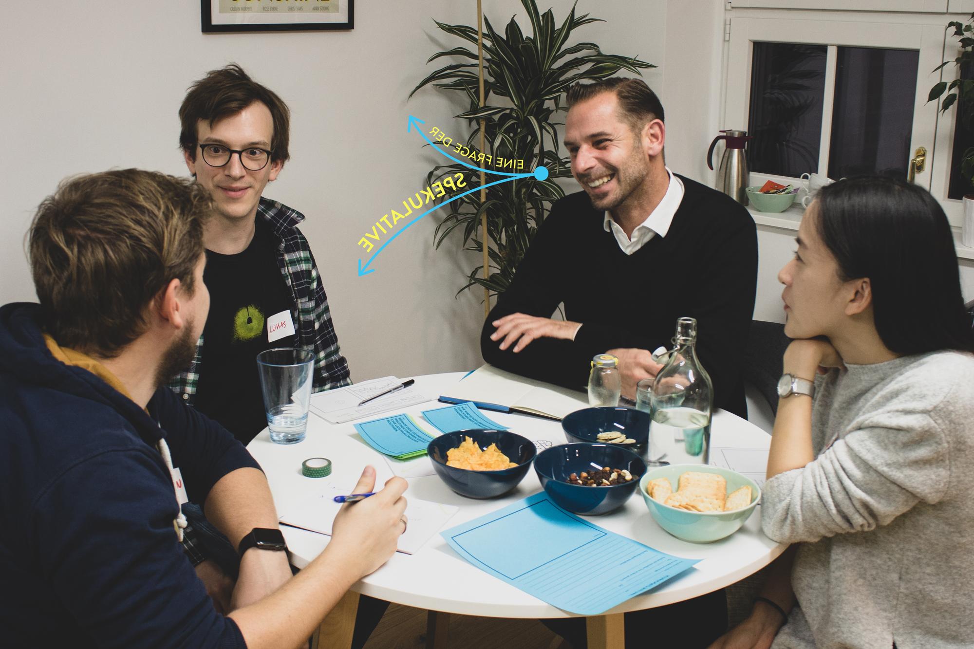 Eine Frage der Spekulative - Workshop Teilnehmer