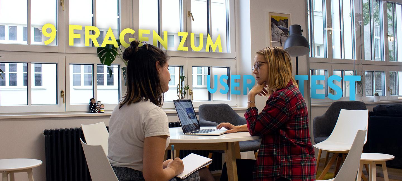 Natalia und Marion reden über Usertests