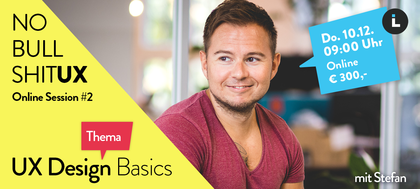 Online Session #2 – UX Design Basics Bild